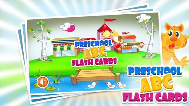 PreSchool ABC Flash Cards poster