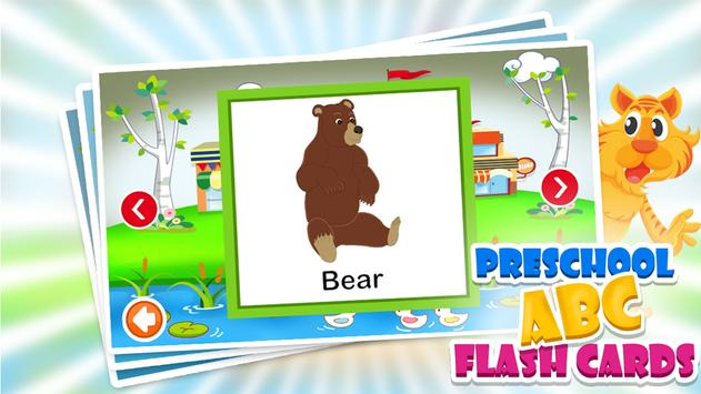 PreSchool ABC Flash Cards apk screenshot