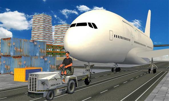 Real Plane Mechanic: Airplane Ground Flight Staff poster