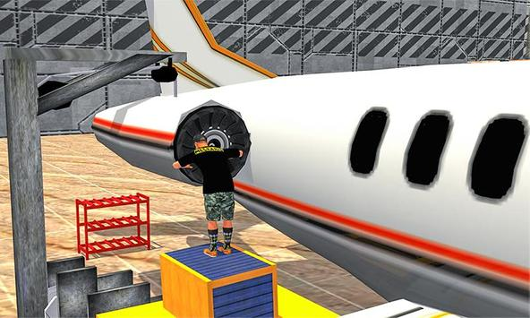 Real Plane Mechanic: Airplane Ground Flight Staff screenshot 5
