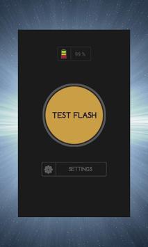 Flashlight on Call Text screenshot 1