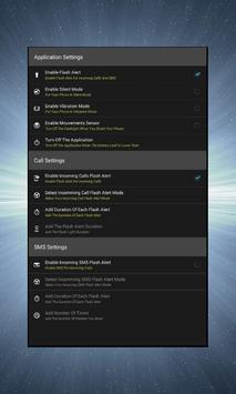 Flashlight on Call Text screenshot 2