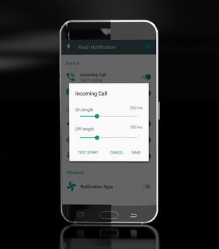 flash alert notification call apk screenshot
