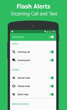 Flash Alerts on Call & Message poster