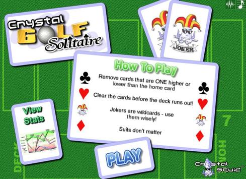 Golf Solitaire Pro poster