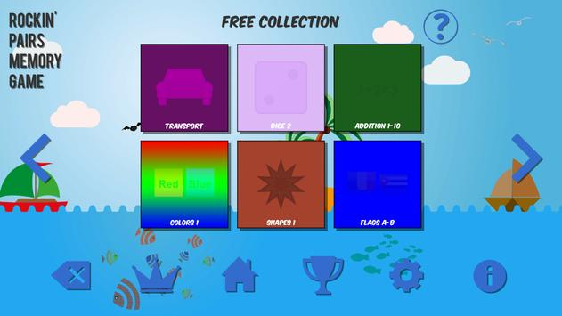 Rockin' Pairs Memory Game screenshot 10