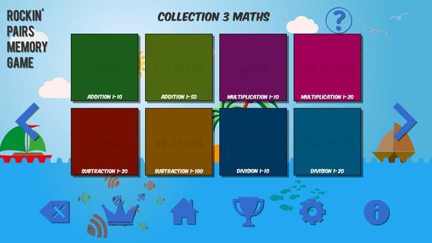 Rockin' Pairs Memory Game screenshot 2