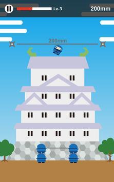 Fly High Ninja〜高く飛びたいでござる screenshot 4