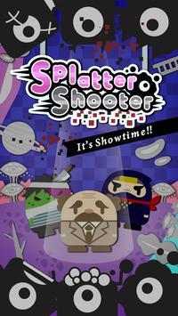 Splatter Shooter -Shout 30sec! poster