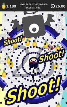 Splatter Shooter -Shout 30sec! apk screenshot