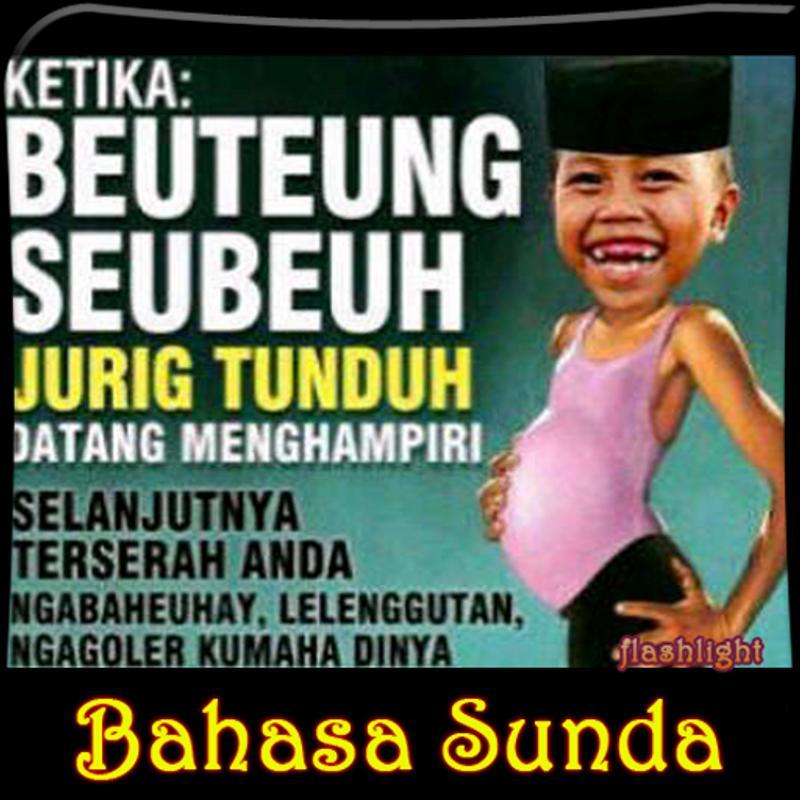 Dp Lucu Bahasa Sunda Poster