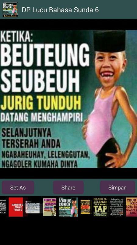 Dp Lucu Bahasa Sunda Captura De Pantalla
