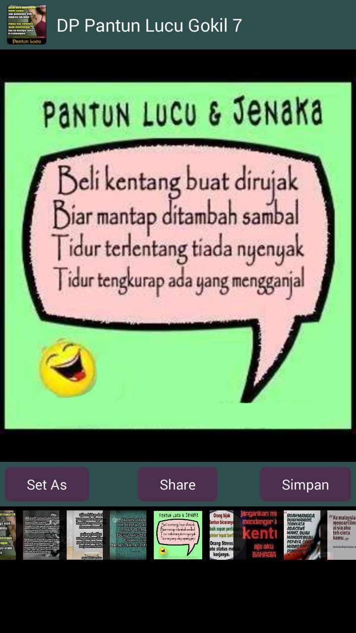 DP Pantun Lucu Gokil for Android APK Download