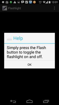 Flashlight on your phone screenshot 1
