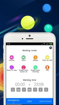 Flash Light Incoming - Caller - SMS - Notification apk screenshot