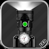 Flashlight With Clock(Widget) icon
