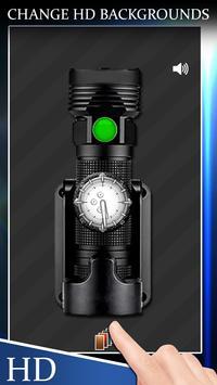 Flashlight With Clock(Widget) apk screenshot