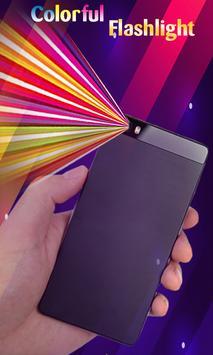 Super Flashlight - Free Brightest LED Color Light poster