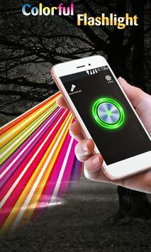 Super Flashlight - Free Brightest LED Color Light screenshot 1