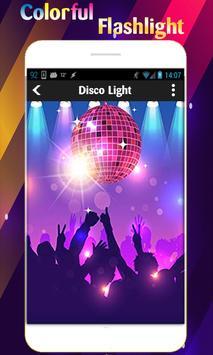 Super Flashlight - Free Brightest LED Color Light screenshot 3