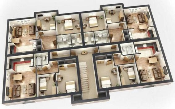 3d big house layout apk download free lifestyle app for android - House Blueprint App