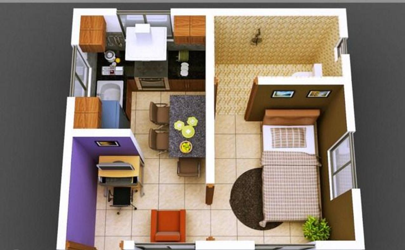 Home Design Ideas For Small Homes: 3 डी छोटे हाउस डिजाइन For Android