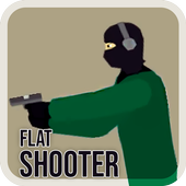 Flat Shooter Zombies icon
