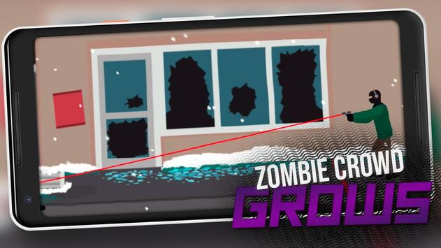 Flat Shooter Zombies poster