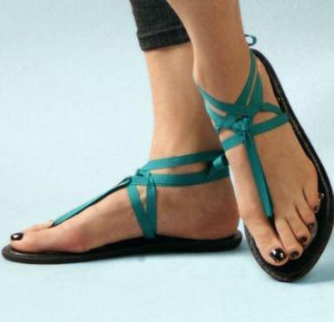 Flat Sandals Ideas screenshot 1