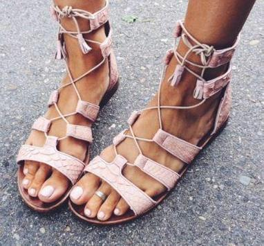Flat Sandals Ideas screenshot 5