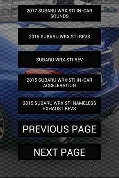 Engine sounds of 2015+ WRX STi screenshot 1