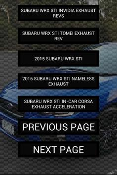 Engine sounds of 2015+ WRX STi screenshot 2