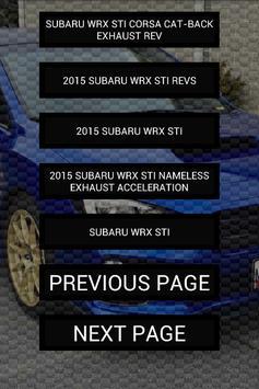 Engine sounds of 2015+ WRX STi apk screenshot
