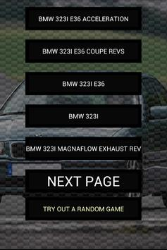Engine sounds of 323i poster