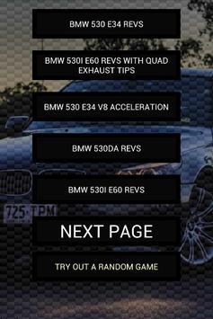 Engine sounds of 530i 530d poster