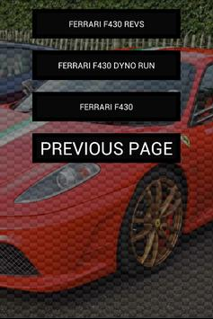 Engine sounds of F430 apk screenshot