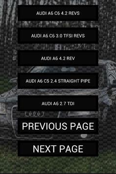 Engine sounds of A6 apk screenshot