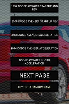 Engine sounds of Avenger poster