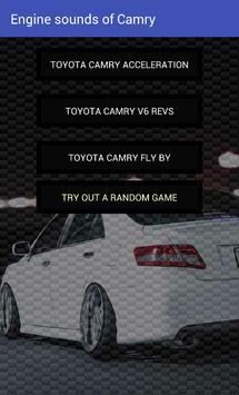 Engine sounds of Camry apk screenshot