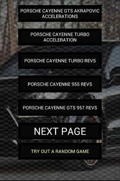 Engine sounds of Cayenne poster