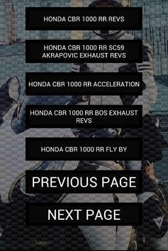 Engine sounds of CBR1000RR apk screenshot