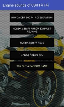 Engine sounds of CBR F4 F4i apk screenshot