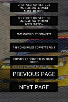 Engine sounds of Corvette screenshot 6