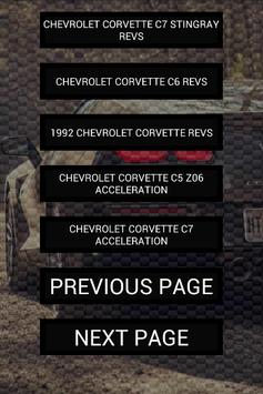 Engine sounds of Corvette screenshot 1