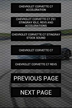 Engine sounds of Corvette screenshot 2