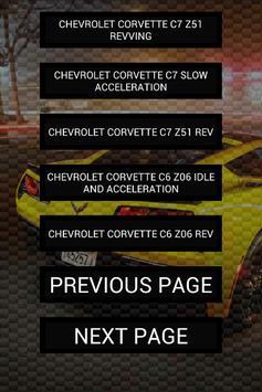 Engine sounds of Corvette screenshot 3