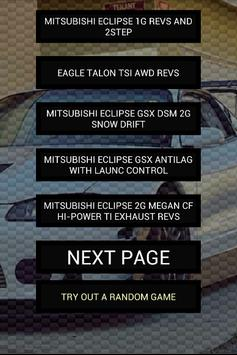 Engine sounds of DSM poster