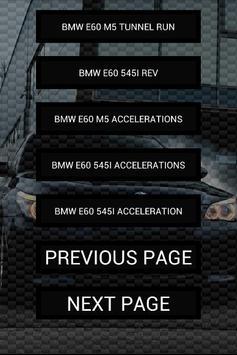 Engine sounds of E60 M5 550i screenshot 1