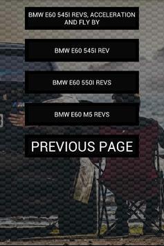 Engine sounds of E60 M5 550i screenshot 2
