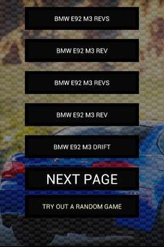 Engine sounds of E92 M3 335i poster